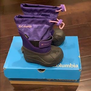 Columbia boots toddler size 6